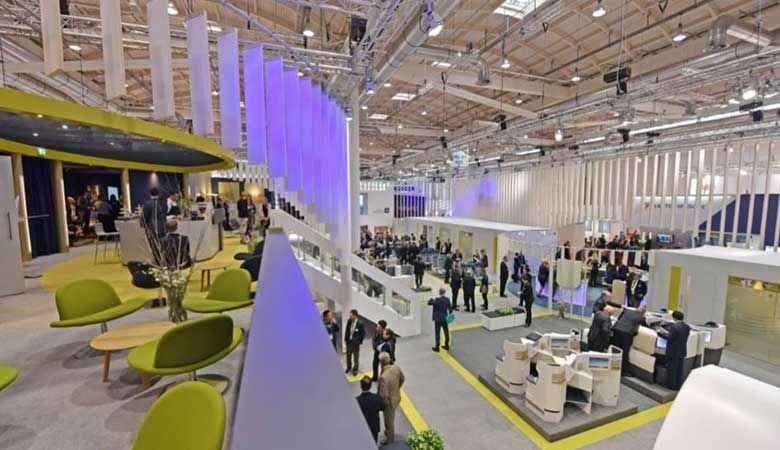 """Aircraft Interiors Expo"" Show in Hamburg, Germany"